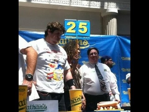 """2012 Cleveland Nathan's Hot Dog Qualifier- Conti vs L.A. Beast"""