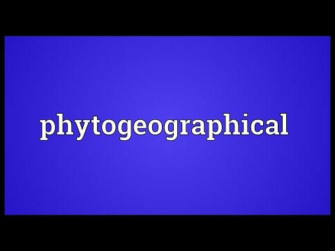 Header of phytogeographical