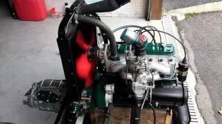 Démarrage moteur renault 4cv