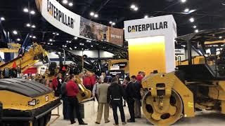 Video still for Caterpillar Booth at World of Asphalt 2018