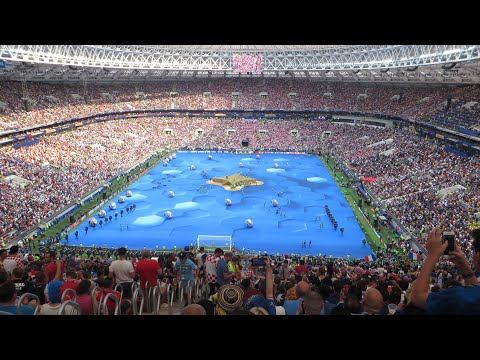 World Cup 2018 Final, France - Croatia, Luzhniki stadium, Moscow Russia (full day)