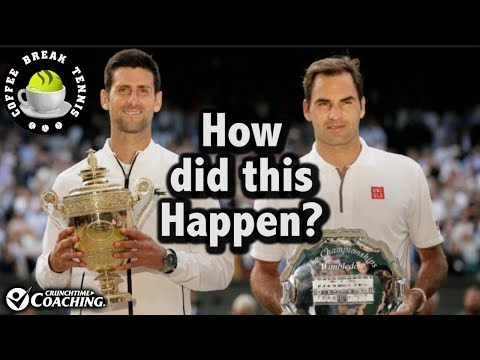 Wimbledon 2019 - Did Federer CHOKE ??   Coffee Break Tennis