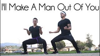 "I'll Make A Man Out Of You ""Mulan"" - Jason Chen x Joseph Vincent cover"