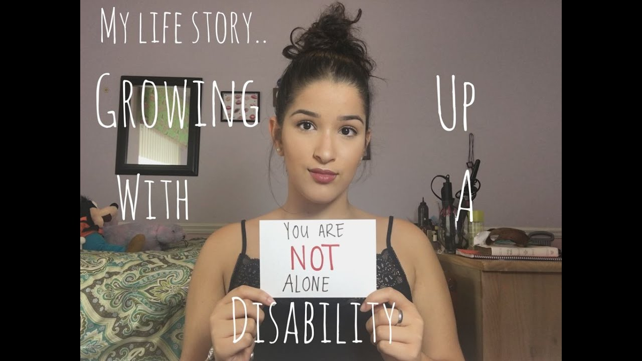 GROWING UP WITH A DISABILITY | Ariana Gonzo