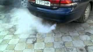 Белый дым из выхлопной(Заменить колпачки и кольца., 2011-06-07T21:34:02.000Z)