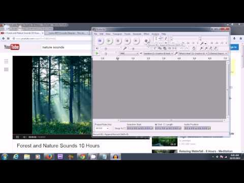 Use Audacity to Record MP3 Audio from PC Speakers or Youtube