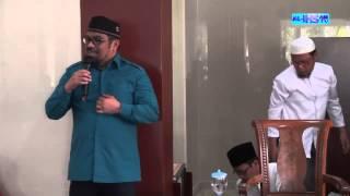 Sambutan Pelepasan Jamaah Haji Th 2015 dari Jamaah Masjid Al-Ihsan  oleh Bpk. H. Armen Amir, SH