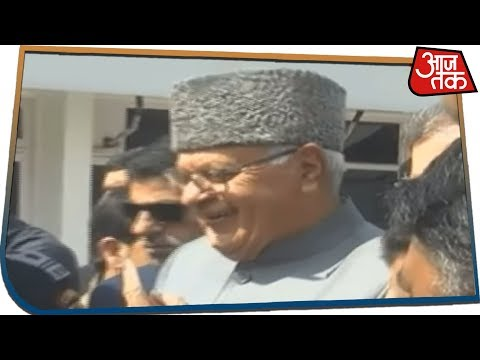 National Conference Leader Farooq Abdullah Casts His Vote In Kashmir | Breaking News