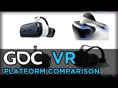 Two Games, Four Platforms: A VR Platform Comparison