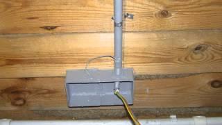 Скрытая электропроводка в деревянном доме под гипсокартон. Часть 2(Это видео создано в редакторе слайд-шоу YouTube: http://www.youtube.com/upload., 2015-02-28T17:10:49.000Z)