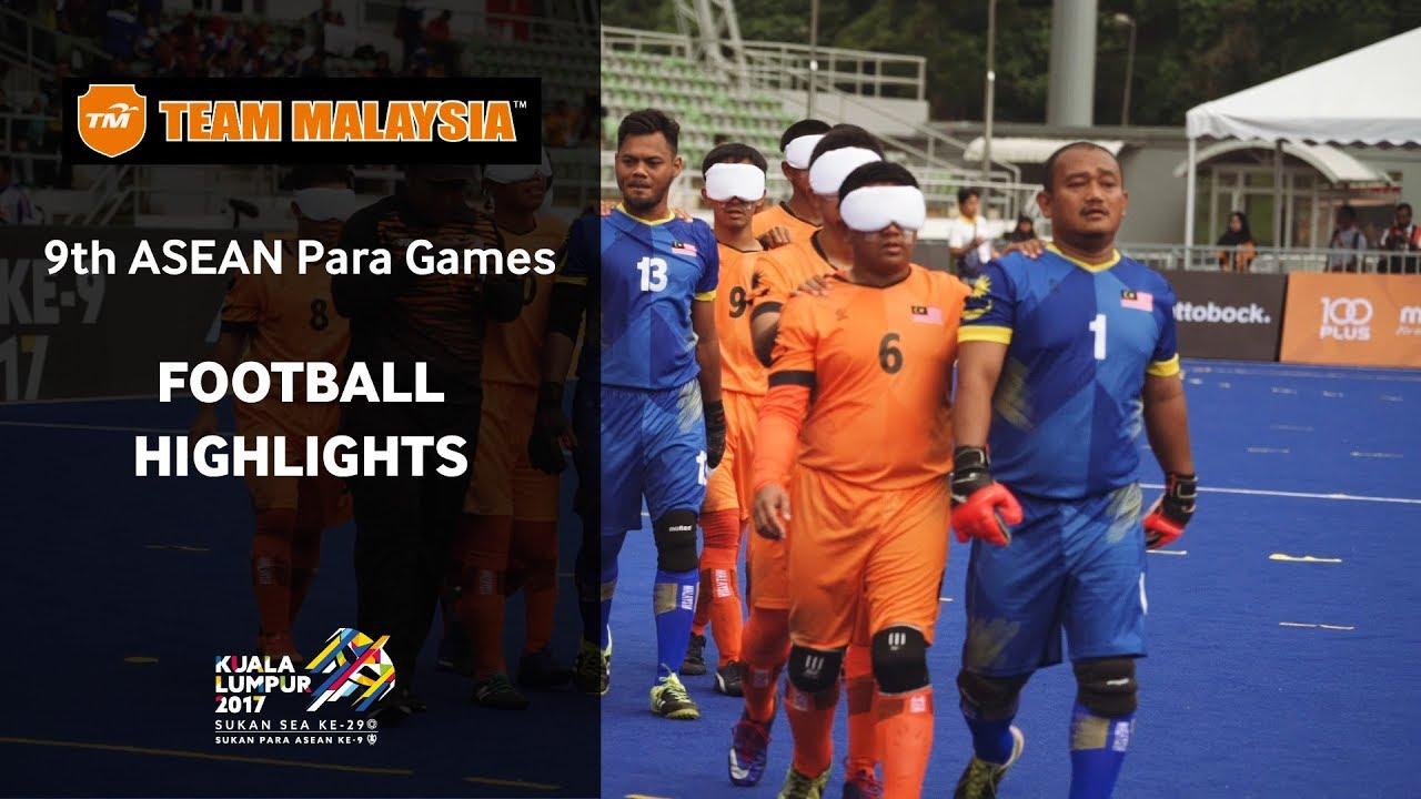 Team Malaysia presents KL2017 Para Games (Football Highlights)