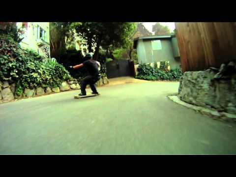 Kyle Chin skating Hollywood
