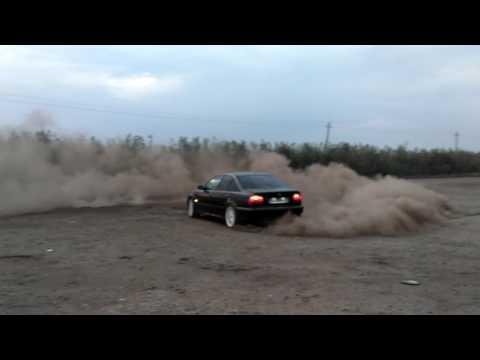 BMW e39 черный Бумер .Дрифт.