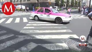 De Tokio a la CdMx: pintan cruces peatonales en diagonal