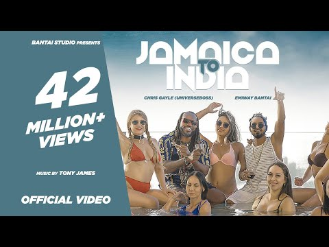 EMIWAY BANTAI X CHRIS GAYLE (UNIVERSEBOSS) - JAMAICA TO INDIA (PROD BY TONY JAMES) (OFFICIAL VIDEO)