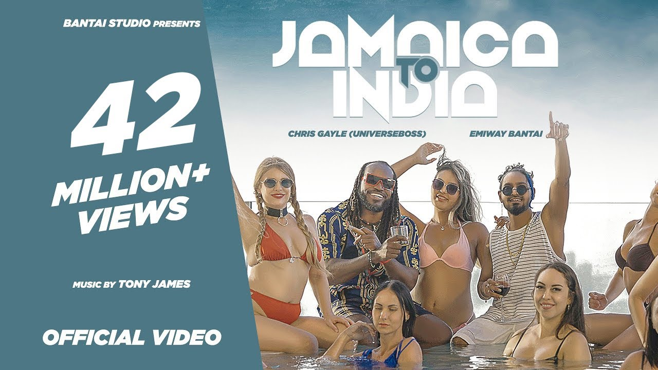 Jamaica To India  Lyrics Emiway Bantai, Chris Gayle