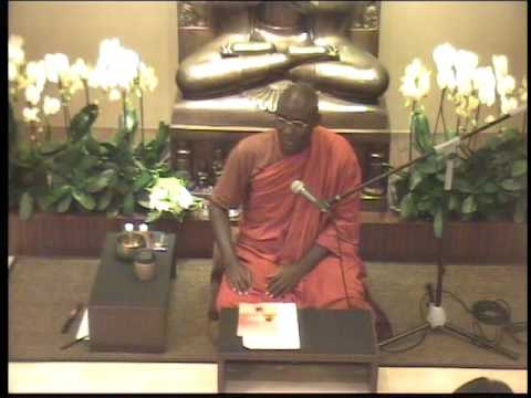 Vesak Day Morning Service Talk - Bhante Buddharakkhita - 20170510