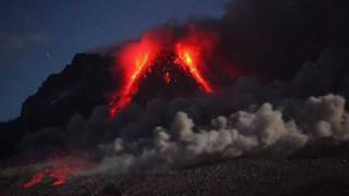 Eruption Montserrat 3/4, Night shift