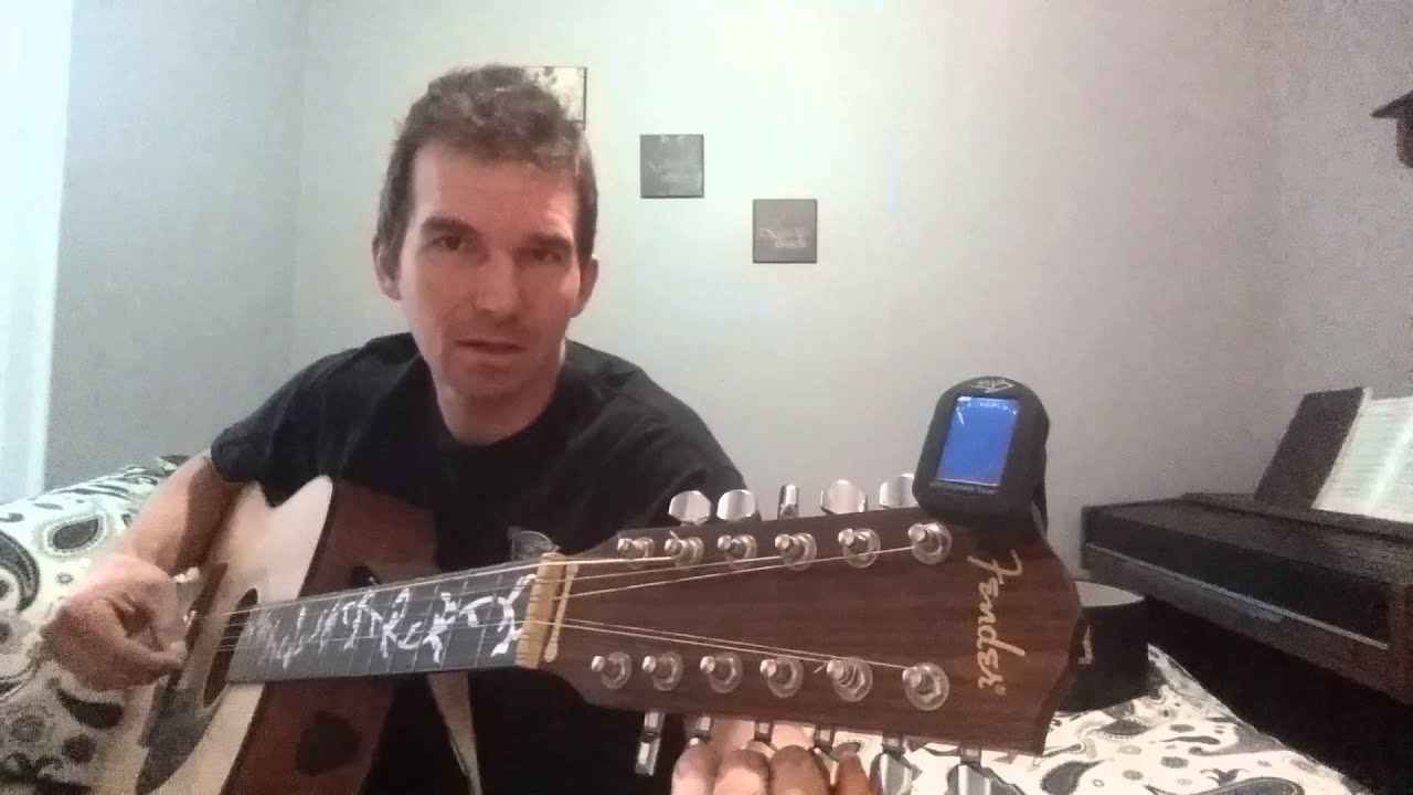 how to tune a 12 string acoustic guitar youtube. Black Bedroom Furniture Sets. Home Design Ideas