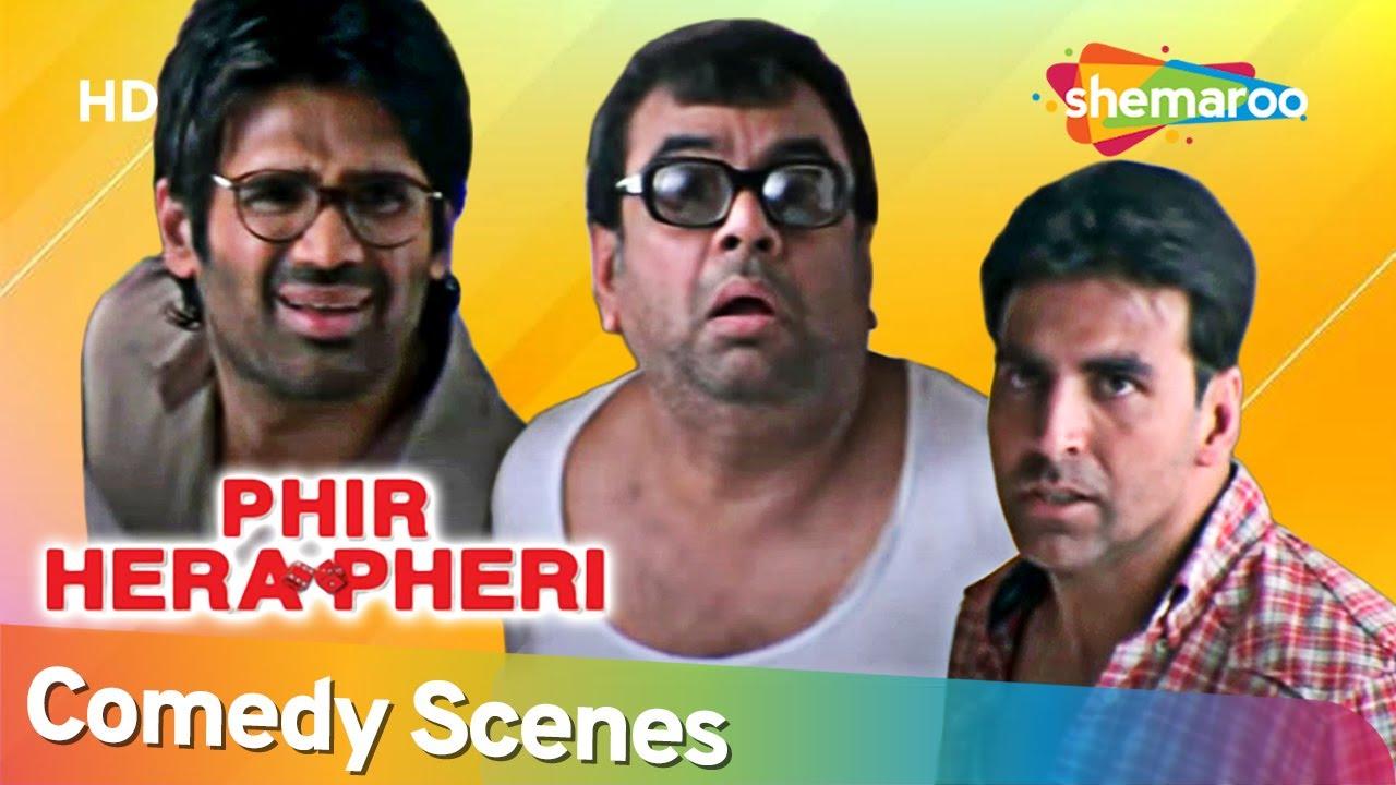 Phir Hera Pheri   अक्षय कुमार के वजसे परेश रावल को हो गई मुसीबत   Comedy Scenes   Akshay Kumar
