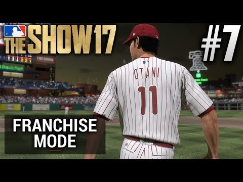 MLB The Show 17 Franchise Mode | Philadelphia Phillies | E7 | SHOHEI OTANI'S MLB DEBUT (G100 S1)