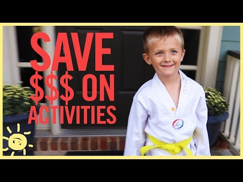 BUDGET |  Save On Kid Classes and Extracurriculars