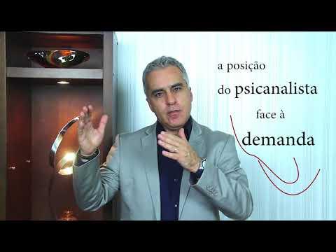 58- DEMANDA NA CLÍNICA PSICANALÍTICA – DESENVOLVIMENTOS