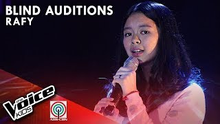 Kung &#39Di Rin Lang Ikaw by Rafy Dacer The Voice Kids Philippines Blind Auditions 2019
