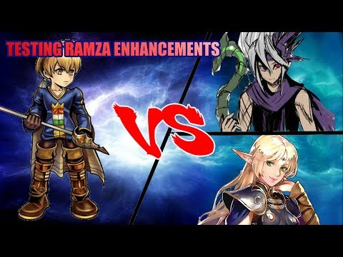 FFBE Global - Testing Ramza Enhancements - Ramza vs Lunera vs Roy!