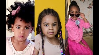 Beyonce and jay z's daughter (Blue Ivy Carter)  Look What She's Doing Today and her life story