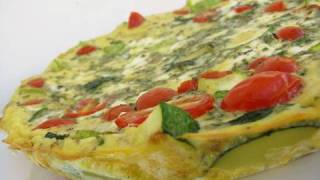 Clean Eating Summer Squash Frittata Recipe
