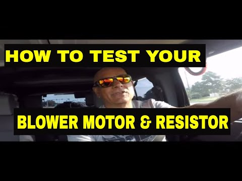 How To Test Your Chevy Malibu Blower Motor...EASY FIX