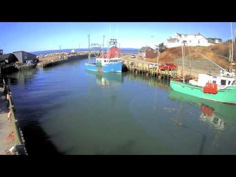 Spring Tide Timelapse, Halls Harbour HD