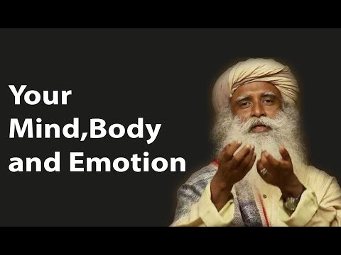 Sadhguru Manage Your Mind, Body and Emotion