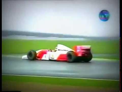 Volta Mágica de Senna. GP da Europa em 1993, em Donington Park.