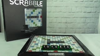 Scrabble Deluxe Edition - A Video Review by Toys Etc Australia