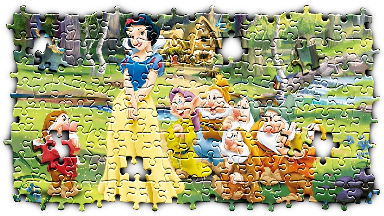 snow white jigsaw puzzle 50 pieces youtube