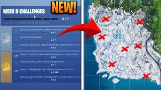How To Complete ALL WEEK 6 CHALLENGES in SEASON 7 - Fortnite Battle Royale