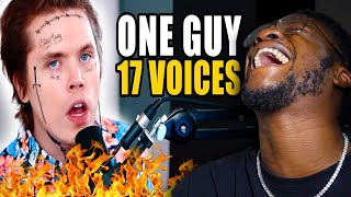 One Guy, 17 Voices (Billie Eilish, Michael Jackson, Post Malone & MORE) REACTION