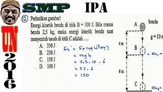 un smp 2016 ipa,kekekalan energi mekanik, no 12