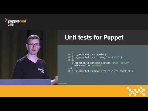 The Future of Testing Puppet Code – Gareth Rushgrove at PuppetConf 2016