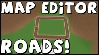 Unturned Map Editor | How to make Roads | Tutorial