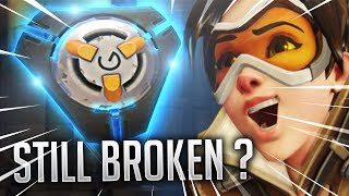 TRACER PULSE BOMB IS STILL BROKEN!- OVERWATCH WTF FUNNY MOMENTS MONTAGE!