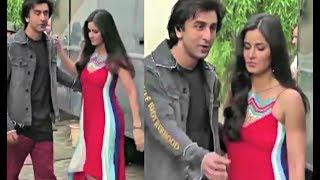 Katrina Kaif Awkward Moment With Ranbir Kapoor At Jagga Jasoos Promotion!