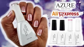 French mani AZURE BEAUTY Official Store //  AliExpress.com