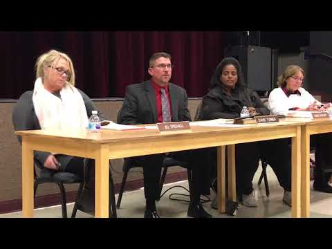 Byron School District Board of Trustees special town hall meeting
