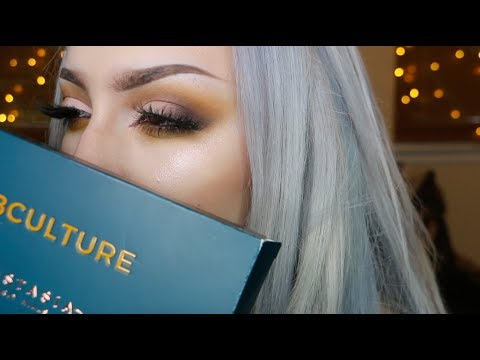 ABH SUBCULTURE PALETTE MAKEUP TUTORIAL + SWATCHES