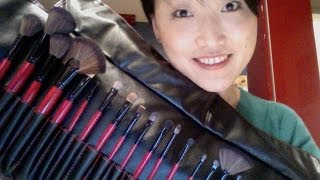 My Review on Groupon Cosmetic Brushes Set!