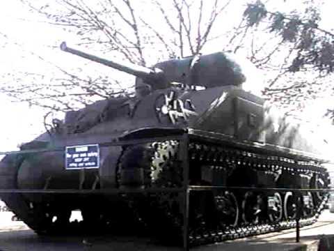 45th Infantry Museum & M4 Sherman. シャーマン戦車@オクラホマ