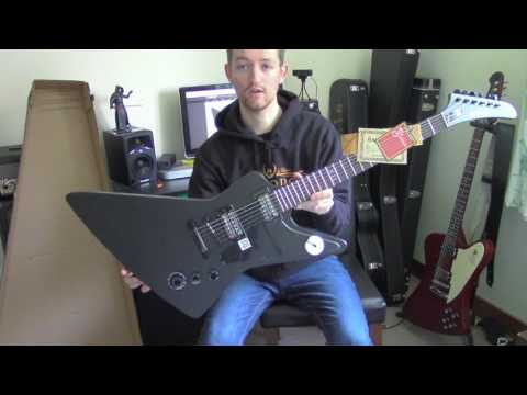 Epiphone 58' Gothic Explorer - Unbox and First impressions
